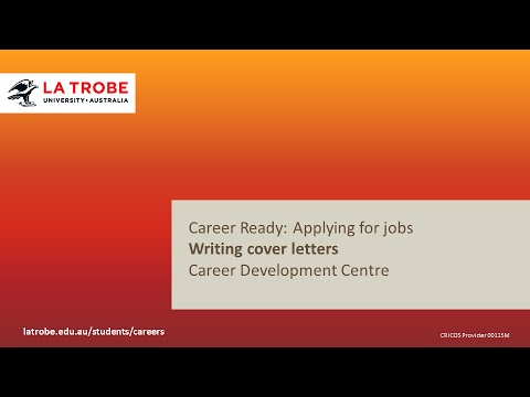 Career Ready Writing Cover Letters