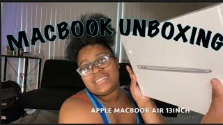 Unboxing/ MacBook Air 13inch