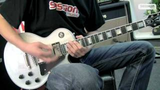 Gibson Les Paul Custom 1957 2 PU TV Silver