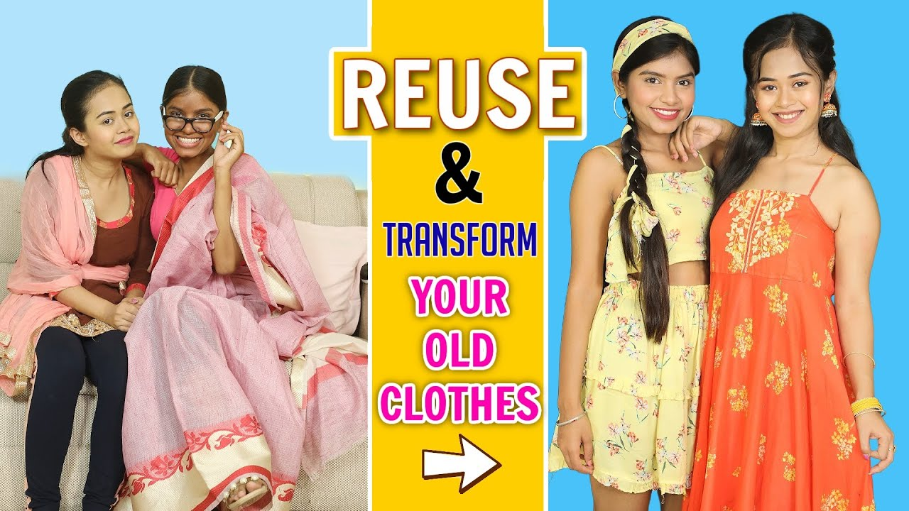 Reuse and Transform your Old Clothes | DIY Queen