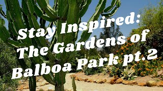 Balboa Park to You - Stay Inspired: The Gardens in the Park pt.2