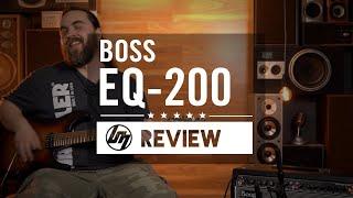 BOSS EQ-200 Graphic EQ Pedal | Better Music