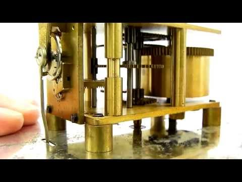 Athel Line Henry Browne Ship's Clock 'Sestrel' Elliott Movement
