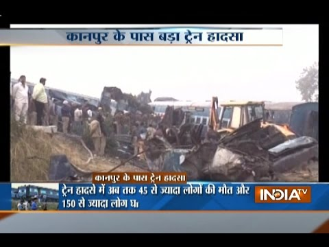 This is How Train no 19321 Patna-Indore Express Derailed near Kanpur