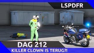 GTA 5 lspdfr dag 212 - Is de killerclown weer terug?! [KMAR motor]