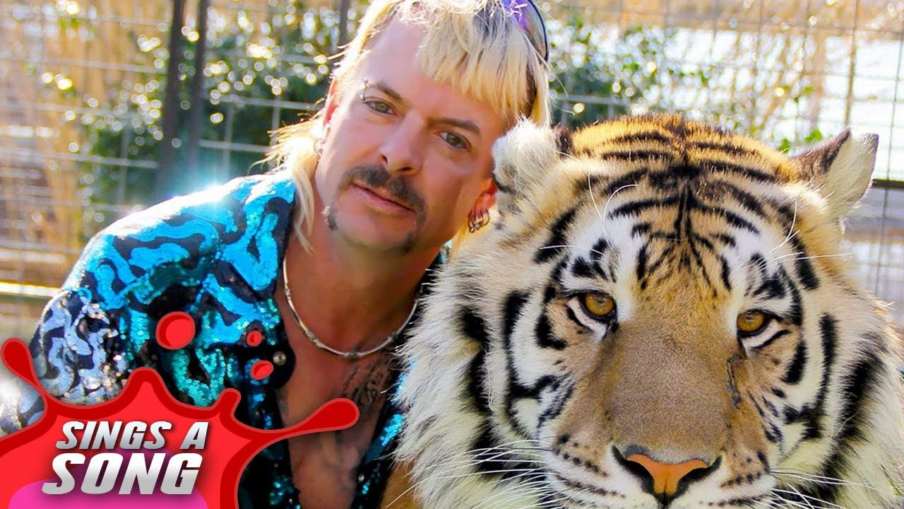 Joe Exotic Sings A Song Hate Carole Baskin The Tiger King Parody Youtube