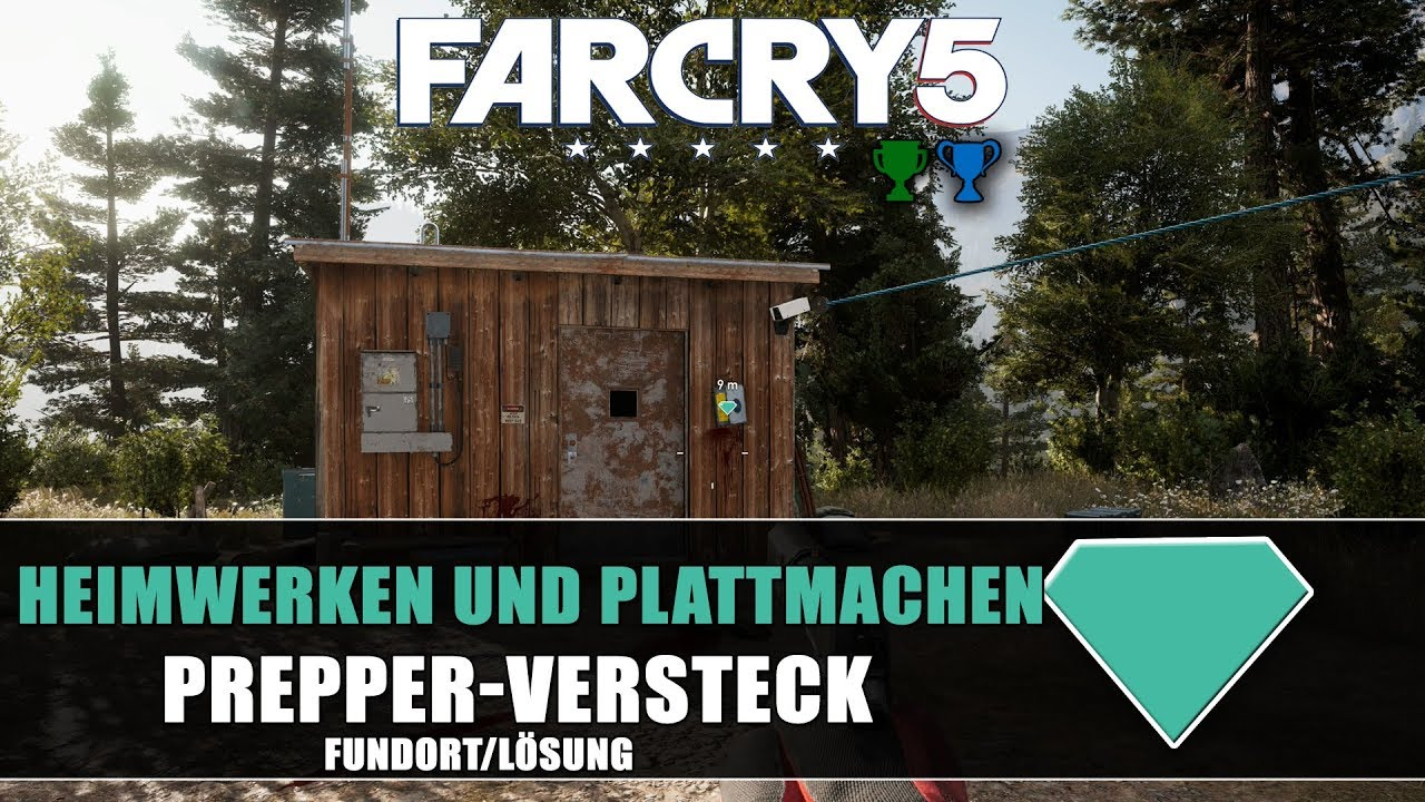 Far Cry 5 Prepper Versteck