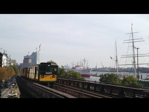 Führerstandsmitfahrt / Cab Ride U-Bahn / Subway Hamburg: Berliner Tor - Niendorf Nord