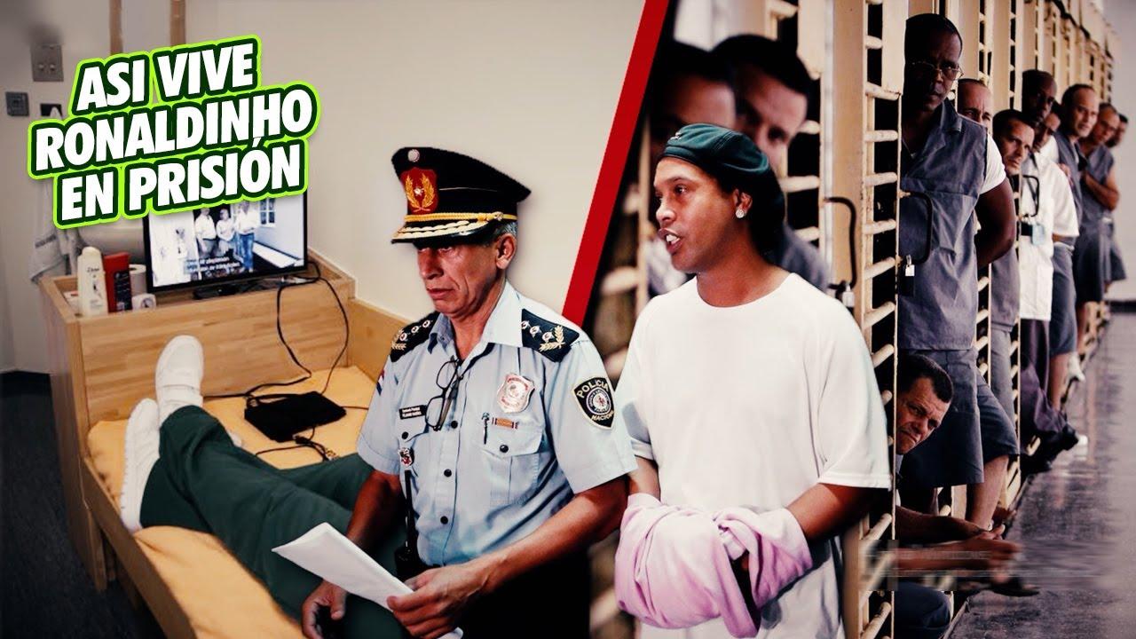Así es como VIVE Ronaldinho en PRISIÓN y cómo lo TRATAN los otros PRESOS