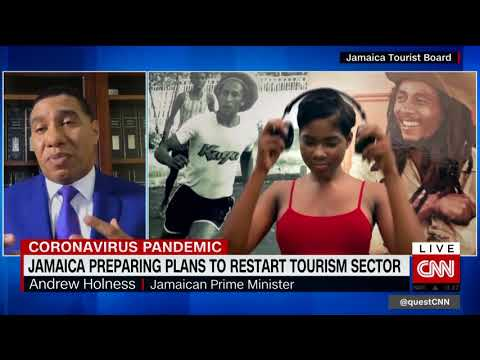 CNN: Quest Means Business: Jamaica Preparing Plans To Restart Tourism Sector (May 14 2020)