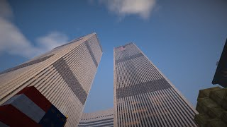 Original World Trade Center Minecraft 9/11 Tribute
