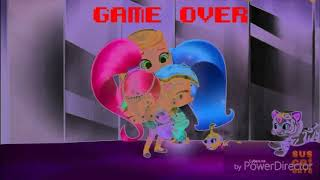 Roblox escapatoria de shimmer y shine Game Over Effects