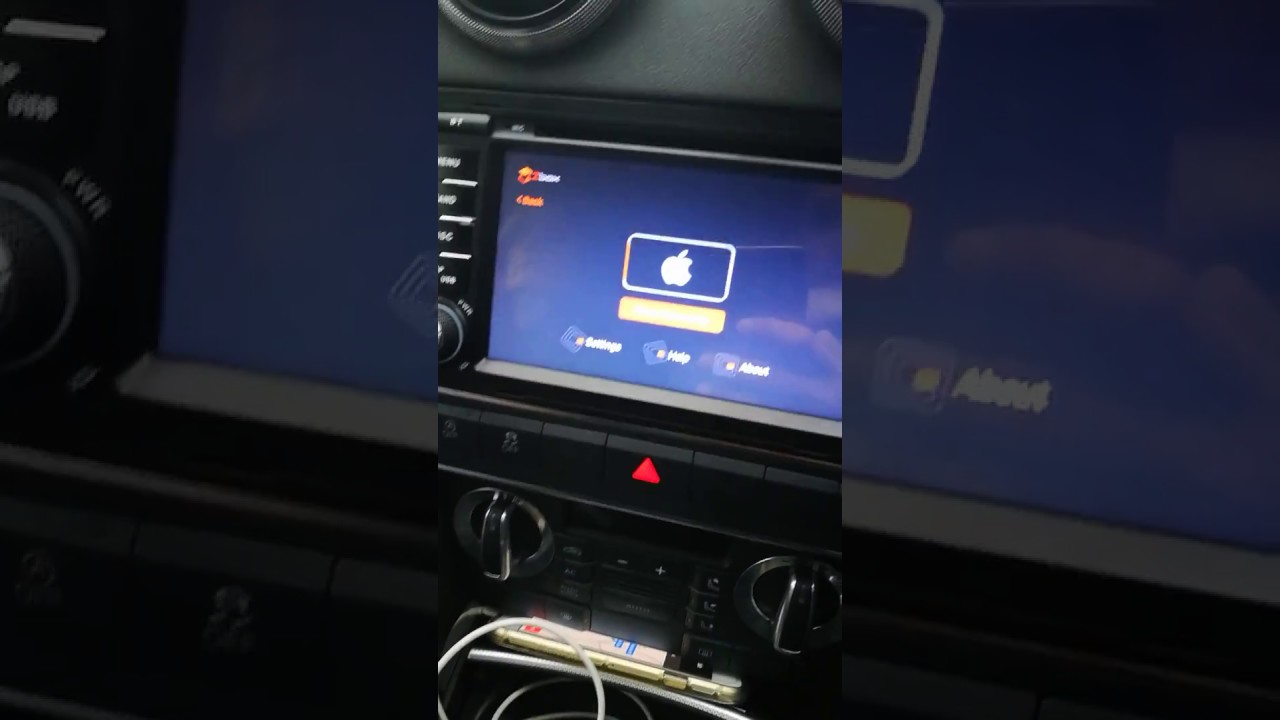 Audi A3 8P xtrons android 8 with zbox carplay dongle