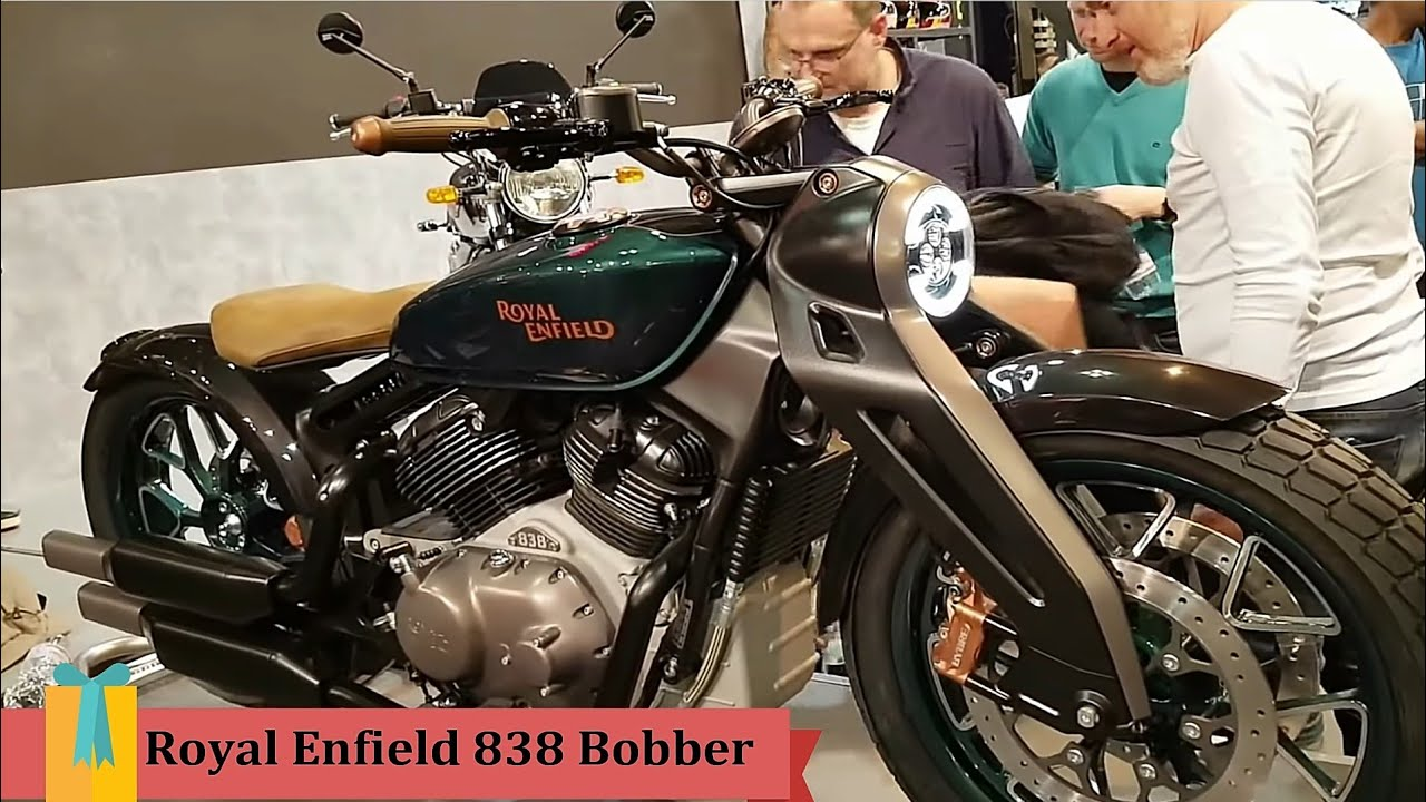 Royal Enfield Bobber 838cc V Twin
