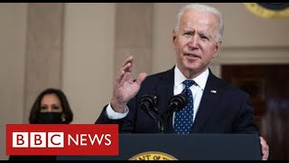 George Floyd murder: President Biden announces investigation of Minneapolis policing - BBC News