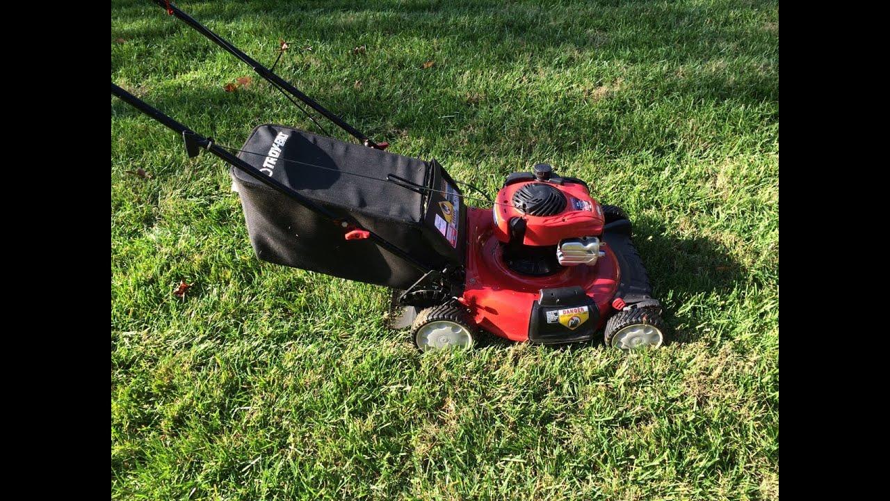 Troy Bilt Tb110 Lawn Mower B U0026s 550ex Series Engine - Moving Sale - Part I - Dec  11  2015