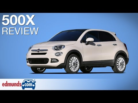 2016 Fiat 500X Review