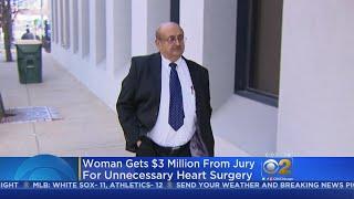 Woman Wins $3 Million Lawsuit Against Doctor