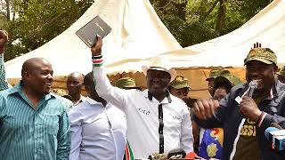 Raila: I may form government from exile.