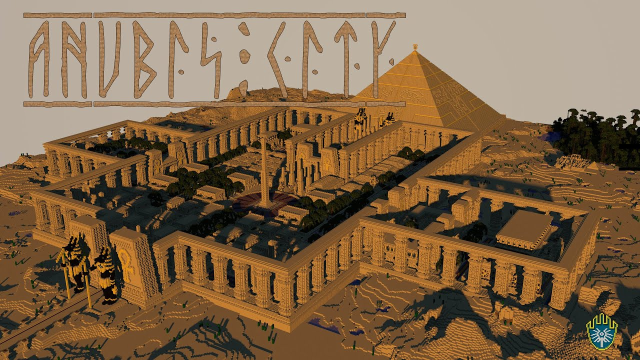 Minecraft: Ancient Anubis City - YouTube