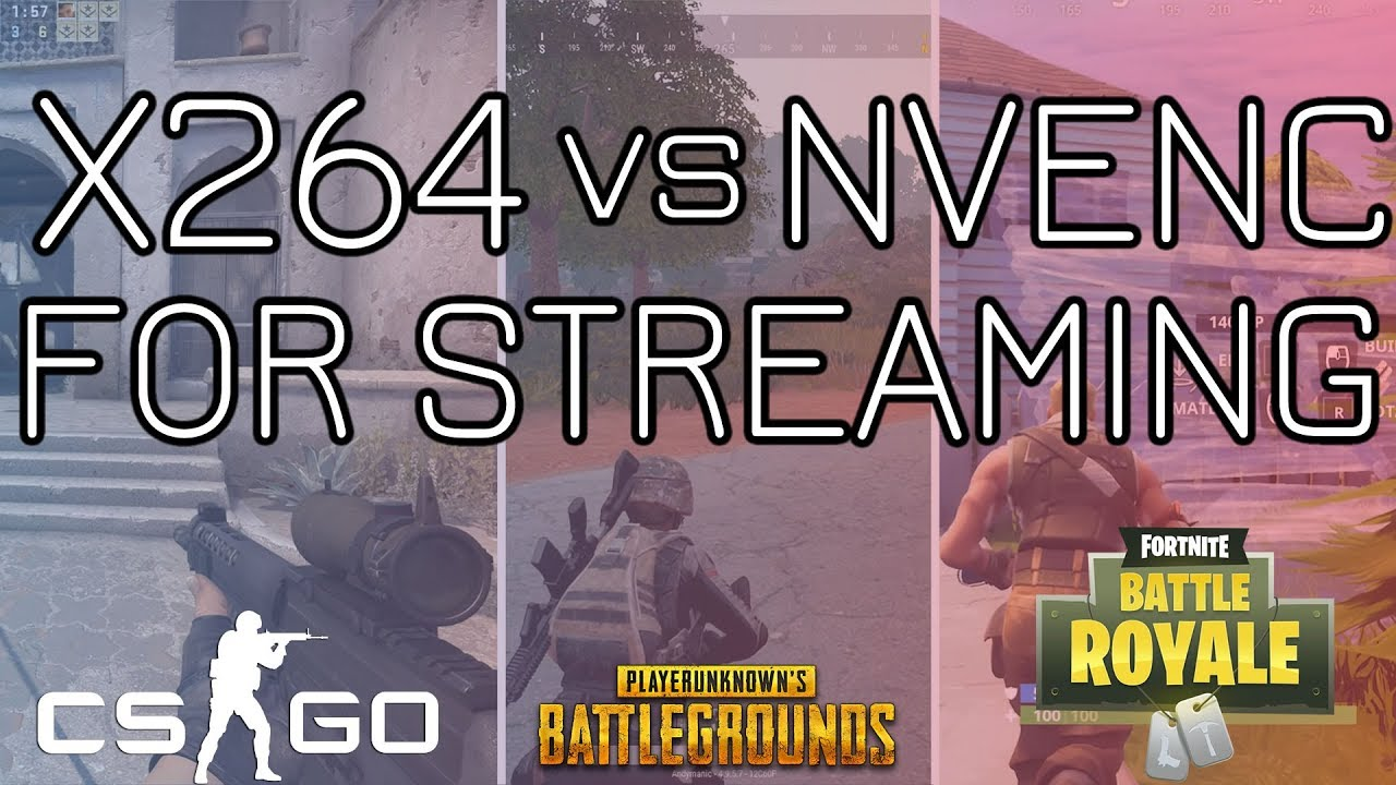 NVENC vs X264 with RTX 2080ti - Streaming & Gaming