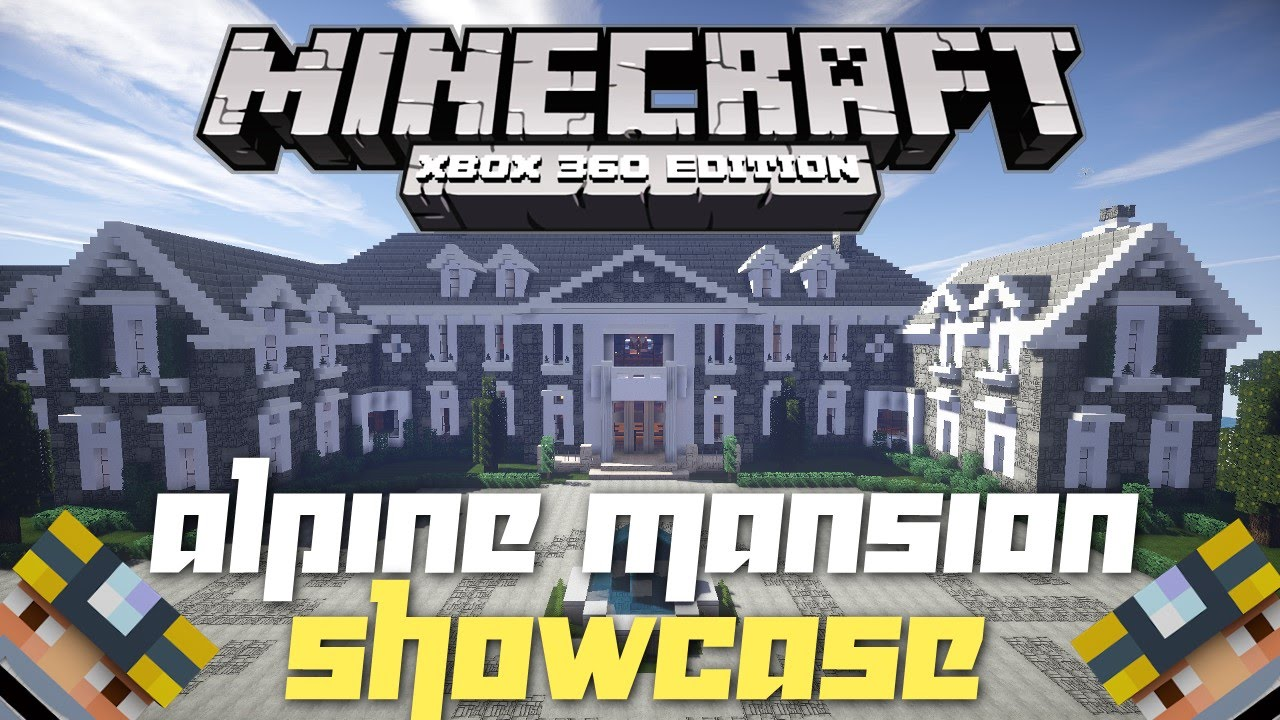 The Alpine Mansion [Creation] | Minecraft PE Maps