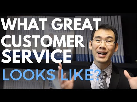 What Great Customer Service Looks Like?  It's Not What You Think! - Vancouver Real Estate: Gary Wong