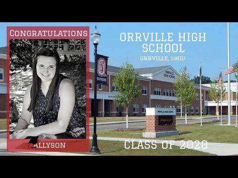 Congratulations Allyson Amstutz! Orrville High School Class of 2020
