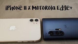 iPhone 11 x Motorola Edge+: Qual é o melhor celular para você?