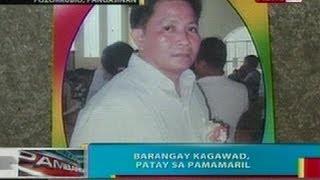 BP: Barangay kagawad sa pozorrubio, pangasinan, patay sa pamamaril