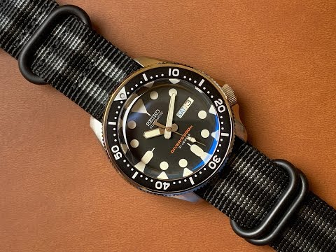 Seiko Mods - Top Hat Sapphire Crystal