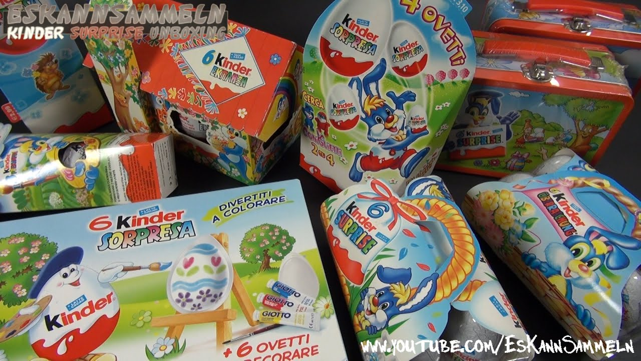 Kinder surprise easter edition big egg, big surprise! Youtube.