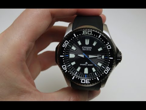 770fd075c74 Citizen Diver ProMaster Eco-Drive Men s Watch Review Model  BN0085-01E -  YouTube