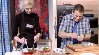 TV Cooking Show Demo of Chef Mike Smerda in Germany