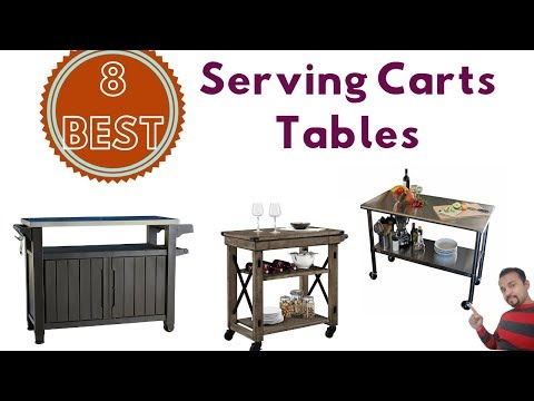 8-best-serving-carts-tables-to-buy-in-2019-list-reviews