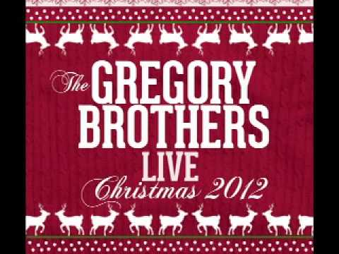 """The Gregory Brothers Live Christmas 2012 """"Have Yourself A Merry Little Christmas"""""""