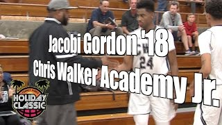 Jacobi Gordon '18, Chris Walker Academy, 2016 UA Holiday Classic