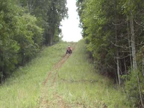 Honda Pilot Atv Hill Climb Youtube