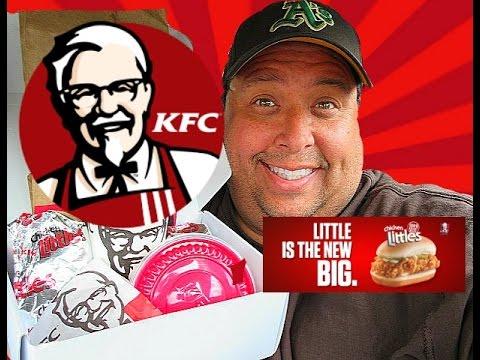 KFC™ $5 Fill Up: Chicken Littles REVIEW!