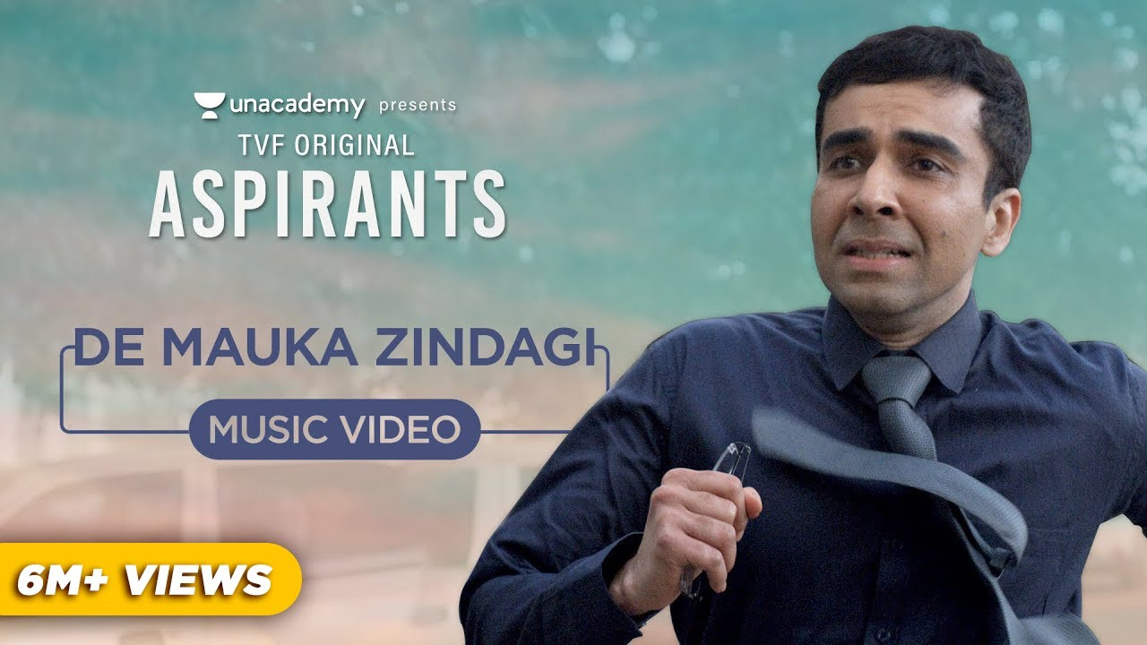 De Mauka Zindagi Lyrical Video | TVF's Aspirants | Nilotpal Bora | Avinash Chouhan