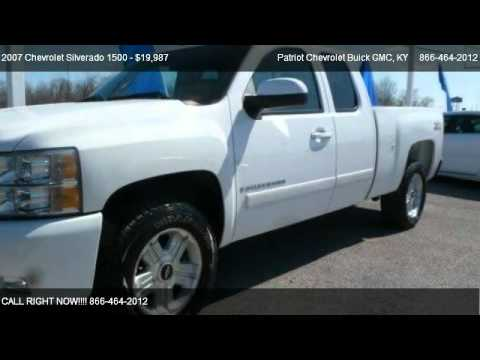 2007 Chevrolet Silverado 1500 LTZ Z71   For Sale In Hopkinsville, KY 42240. Patriot  Chevrolet