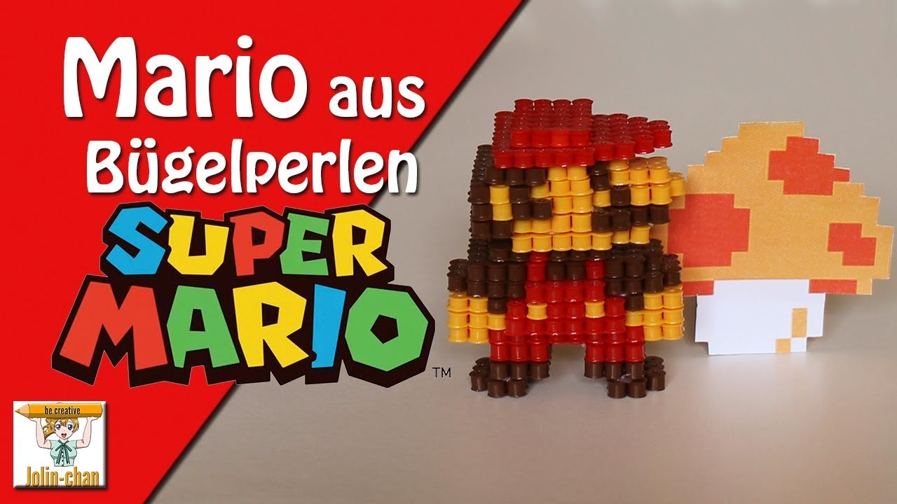 diy super mario 3d classic b gelperlen tutorial perler bead youtube. Black Bedroom Furniture Sets. Home Design Ideas