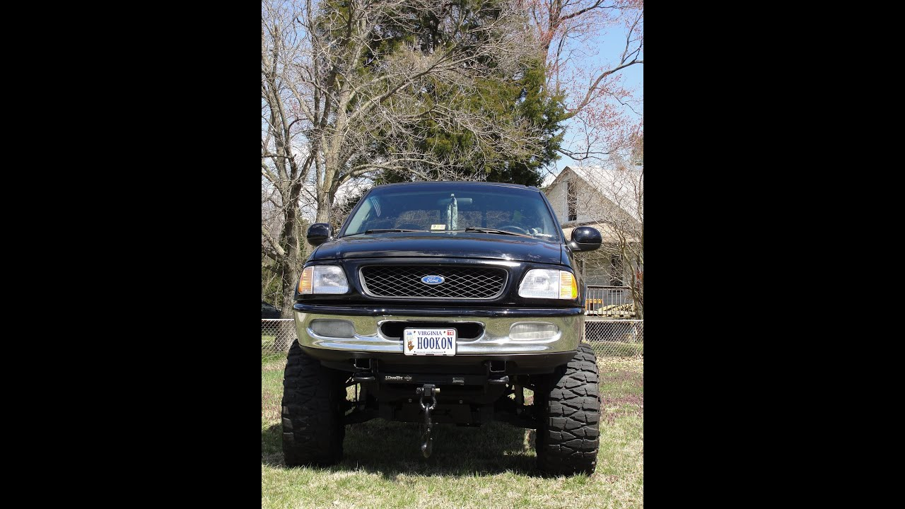 MUDDER FORD F 150 4X4 TRUCK 5 4 ENGINE JACKED LIFT KIT FLOW