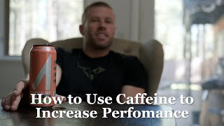 How to use Caffeine to Increase Performance