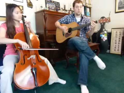 weezer island in the sun cello and acoustic guitar instrumental cover youtube. Black Bedroom Furniture Sets. Home Design Ideas