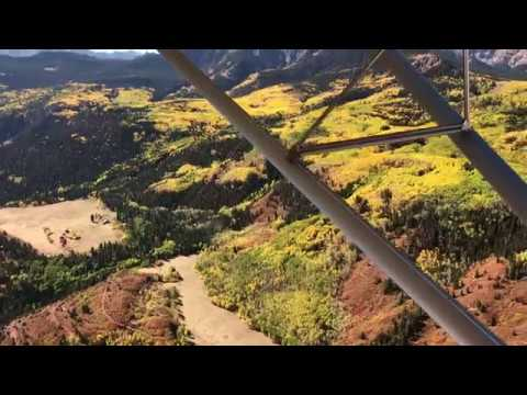 10,000ft Ridgetop landing, Colorado fall colors, and Castle Lakes - GK Flying RANS S6S