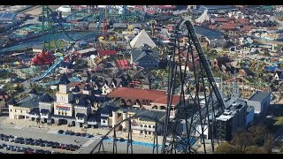 4K Drone HYPERION Mega Coaster ^ Mayan ^ Formula ^ Dron Film- Energylandia Amusement Park Poland