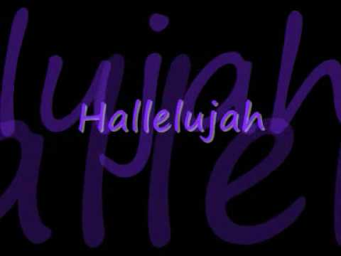Rufus Wainwright- Hallelujah (Lyrics) from YouTube · Duration:  4 minutes 9 seconds
