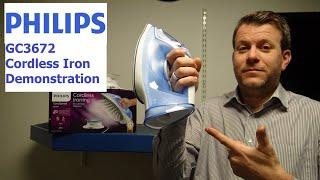 Philips GC3672 Cordless Iron D…