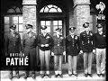 Eisenhower Inspects MP's (1943)